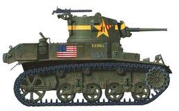 M3 Stuart Stockfotos
