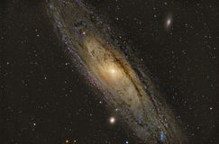M31 Andromeda Galaxy stock photo