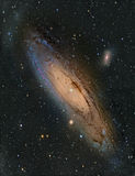 M31 Andromeda Galaxy. Astronomy telescope nebula star royalty free stock photo