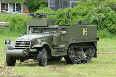 The M3A1 Scout Car from the Museum of American Armor during World War II Encampment Stock Photos
