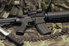 m4 σύγχρονο όπλο Στοκ Φωτογραφία