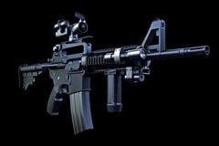 M4 tactisch geweer Royalty-vrije Stock Afbeeldingen