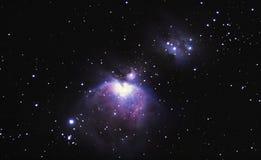 M42, der Orion-Nebelfleck Lizenzfreie Stockfotografie