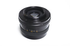 M42 mount. An old manual lens with m42 mount Stock Image