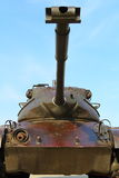M47 Patton Tank. Tank sits in retirement Royalty Free Stock Images