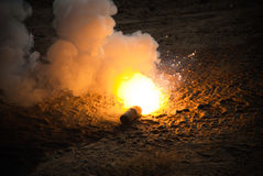 M49A1 oppervlakte reis-gloed Stock Foto