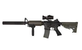 自定义m4a1步枪 图库摄影