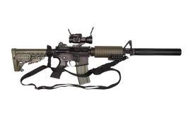 M4A1 avec l'élingue. images libres de droits