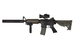 M4A1 custom build rifle stock photography