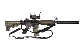 M4A1 with sling. royalty free stock images