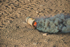 M8 HC Smoke Grenade Royalty Free Stock Photography