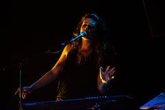 M83 concert at Bumbershoot Royalty Free Stock Images
