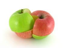 maçã fotos de stock