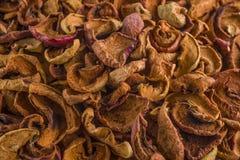Maçã secada orgânica saudável Imagens de Stock
