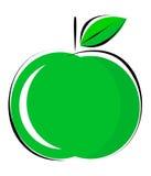 Maçã verde ilustração royalty free