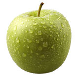 Maçã verde fresca Imagens de Stock