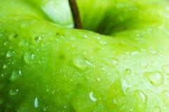 Maçã verde friável Fotos de Stock