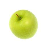 Maçã verde, isolada no fundo branco Imagens de Stock Royalty Free