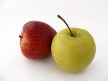 A maçã verde representa a série para o suco de fruto que empacota 3 Imagem de Stock