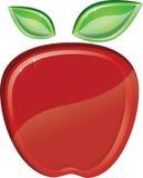 Maçã vermelha Foto de Stock