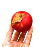 Maçã vermelha fresca Fotografia de Stock Royalty Free
