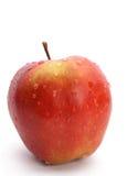 Maçã vermelha molhada Imagem de Stock Royalty Free