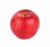 Maçã vermelha no fundo branco Imagem de Stock