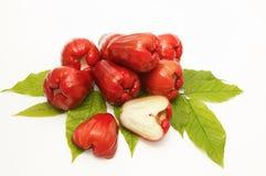 maçãs cor-de-rosa frescas Imagens de Stock