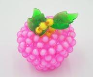 Maçãs cor-de-rosa Handcrafted Fotografia de Stock Royalty Free