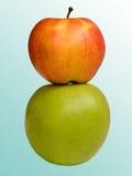 Maçãs da fruta Imagem de Stock