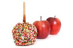 Maçãs de doces Foto de Stock