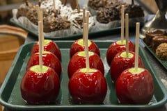 Maçãs de doces Imagem de Stock Royalty Free