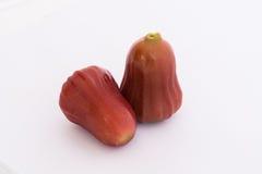 2 maçãs de Rosa Foto de Stock Royalty Free