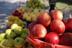 Maçãs frescas - as melhores frutas de Arménia Imagens de Stock Royalty Free