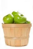 Maçãs frescas de Smith de avó Fotos de Stock