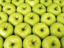 Maçãs verdes Fotos de Stock
