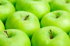 Maçãs verdes Imagem de Stock Royalty Free