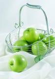Maçãs verdes Fotografia de Stock