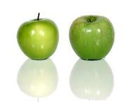 Maçãs verdes Foto de Stock Royalty Free