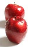 Maçãs vermelhas Foto de Stock