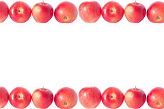 Maçãs vermelhas Fotos de Stock