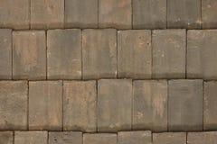 Maçon solide de mur ou de plancher avec le modèle de tuiles photos stock