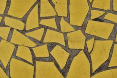 Maçon solide de mur ou de plancher avec le modèle de tuiles image libre de droits