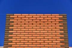 Maçonnerie-brique Photographie stock libre de droits