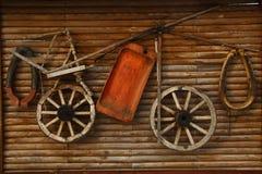 Maçonnerie en bois photographie stock