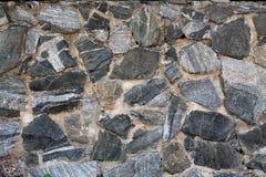 Maçonnerie faite en pierre de granit Fond Images stock