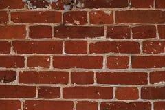Maçonnerie peu commune des briques rouges, texture en pierre antique photos libres de droits