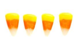 Maíz de caramelo aislado en blanco Fotografía de archivo libre de regalías
