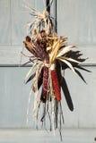 Maíz indio en puerta Fotografía de archivo libre de regalías