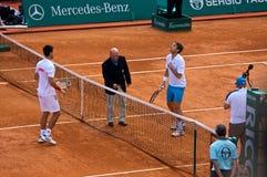 Maître 1 de Djokovic Monte Carlo Rolex Image stock